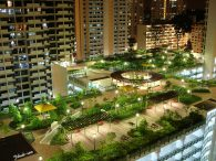 Membuat Taman Atap Bebas Banjir mengunakan Drainage Cell